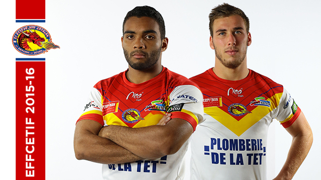53e612829 Catalans Dragons reserve team headcoach Cyrille Gossard announced his squad  for the 2015 16 Elite season.