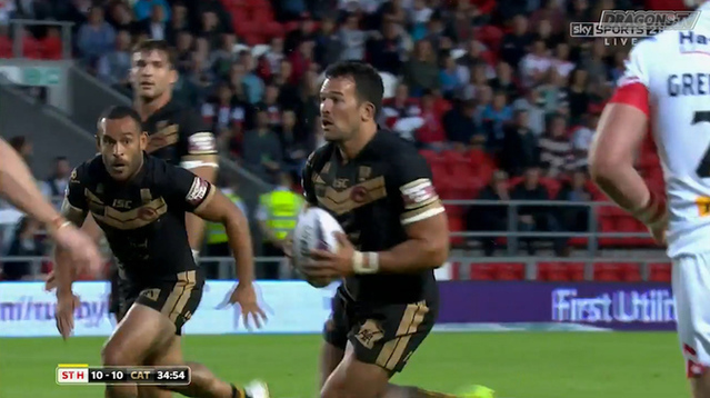 R�sum� St Helens vs Dragons Catalans