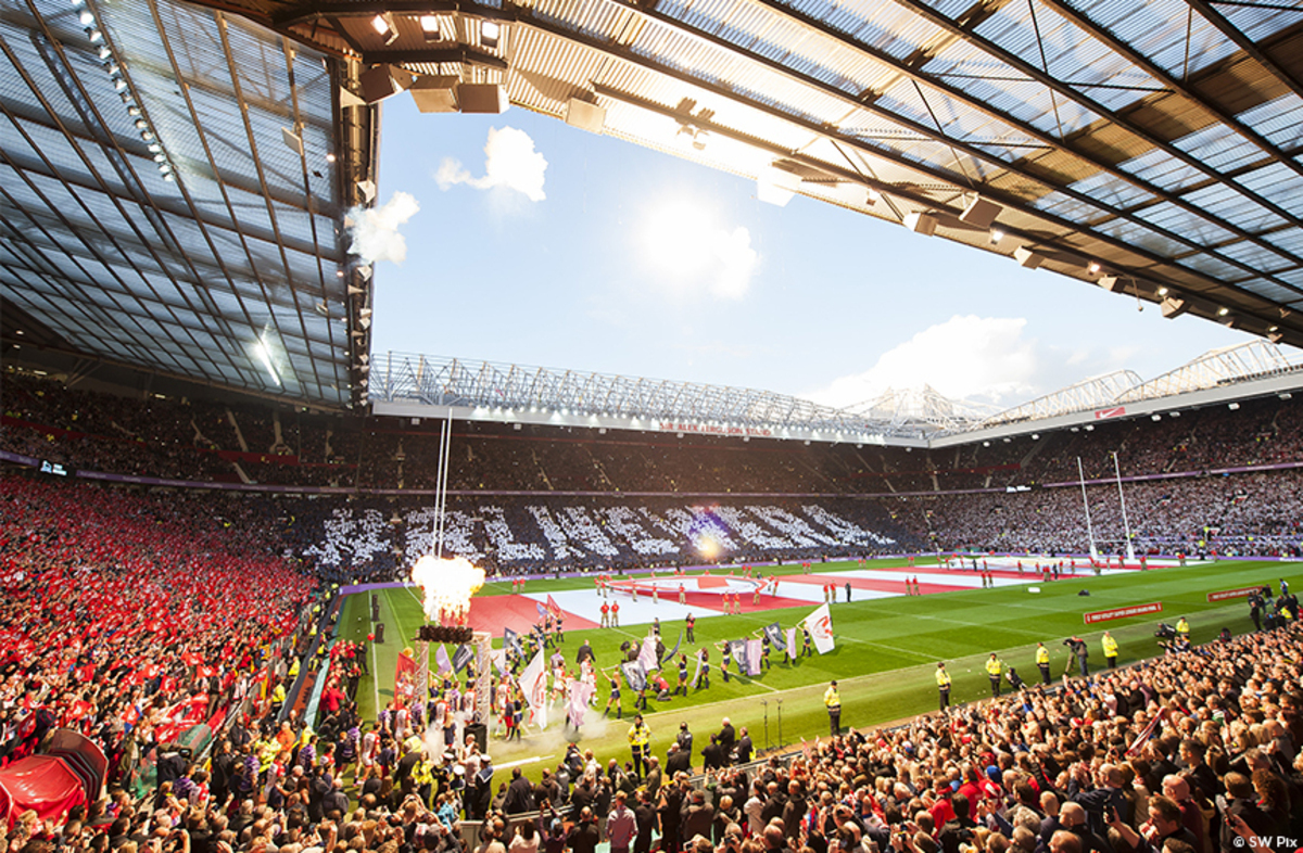 Old Trafford, Manchester - Finale de la Super League
