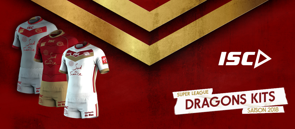 0a90491bf Catalans have today released the brand new ISC kits that will be worn by  the Dragons in 2018.