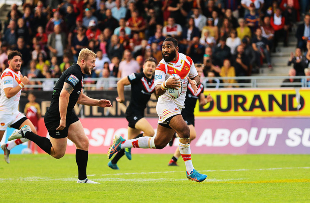 The tries - Dragons Catalans vs Londres (R18)