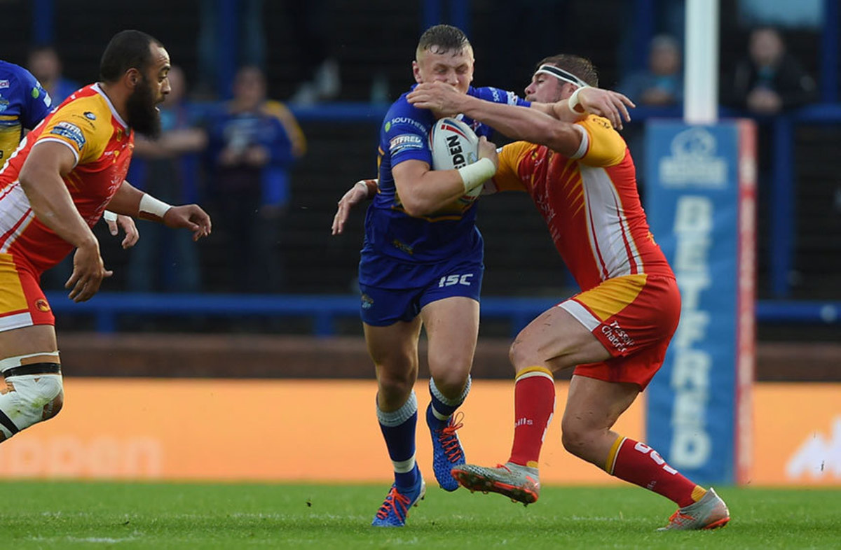 The tries - Leeds vs Dragons Catalans (R25)